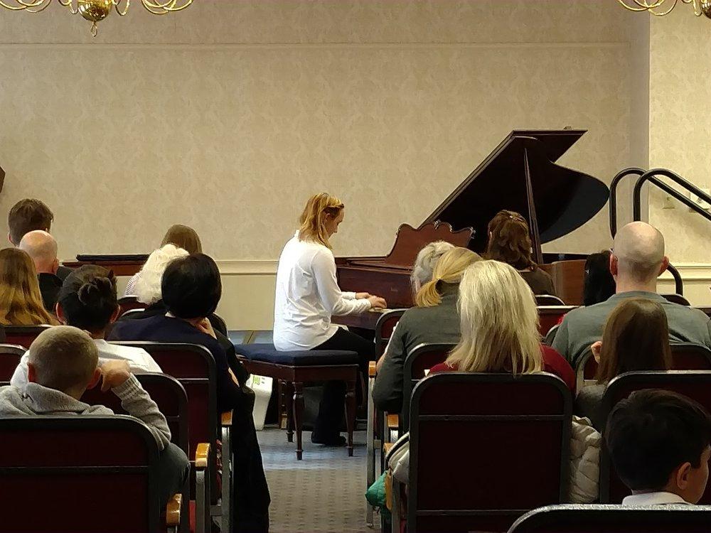 Youth Recital Nov. 2017