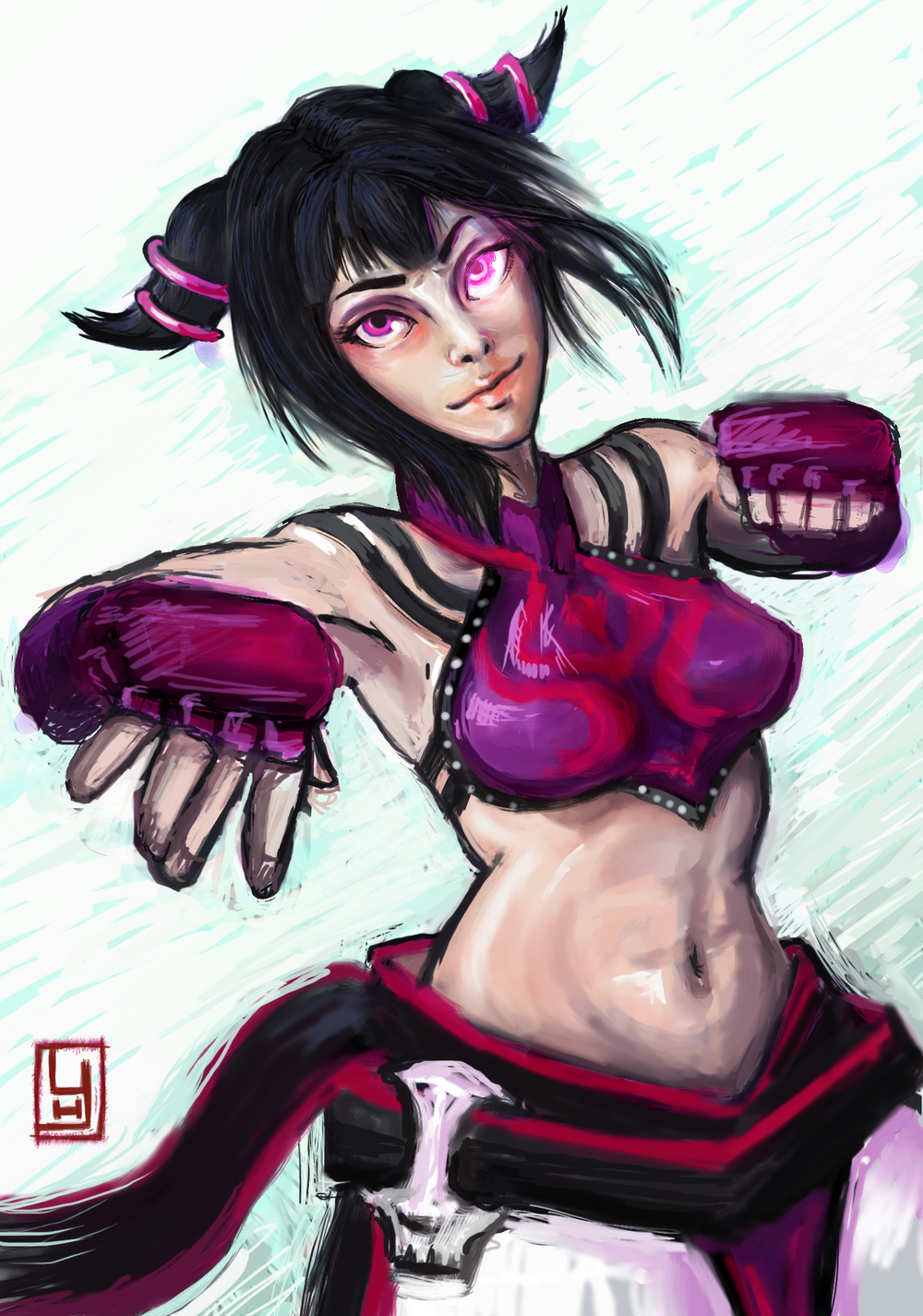 Juri, Street Fighter