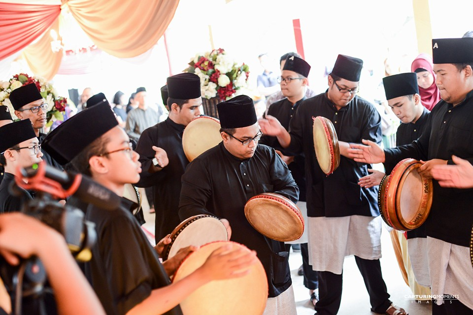Akrab Kompang services for your wedding.
