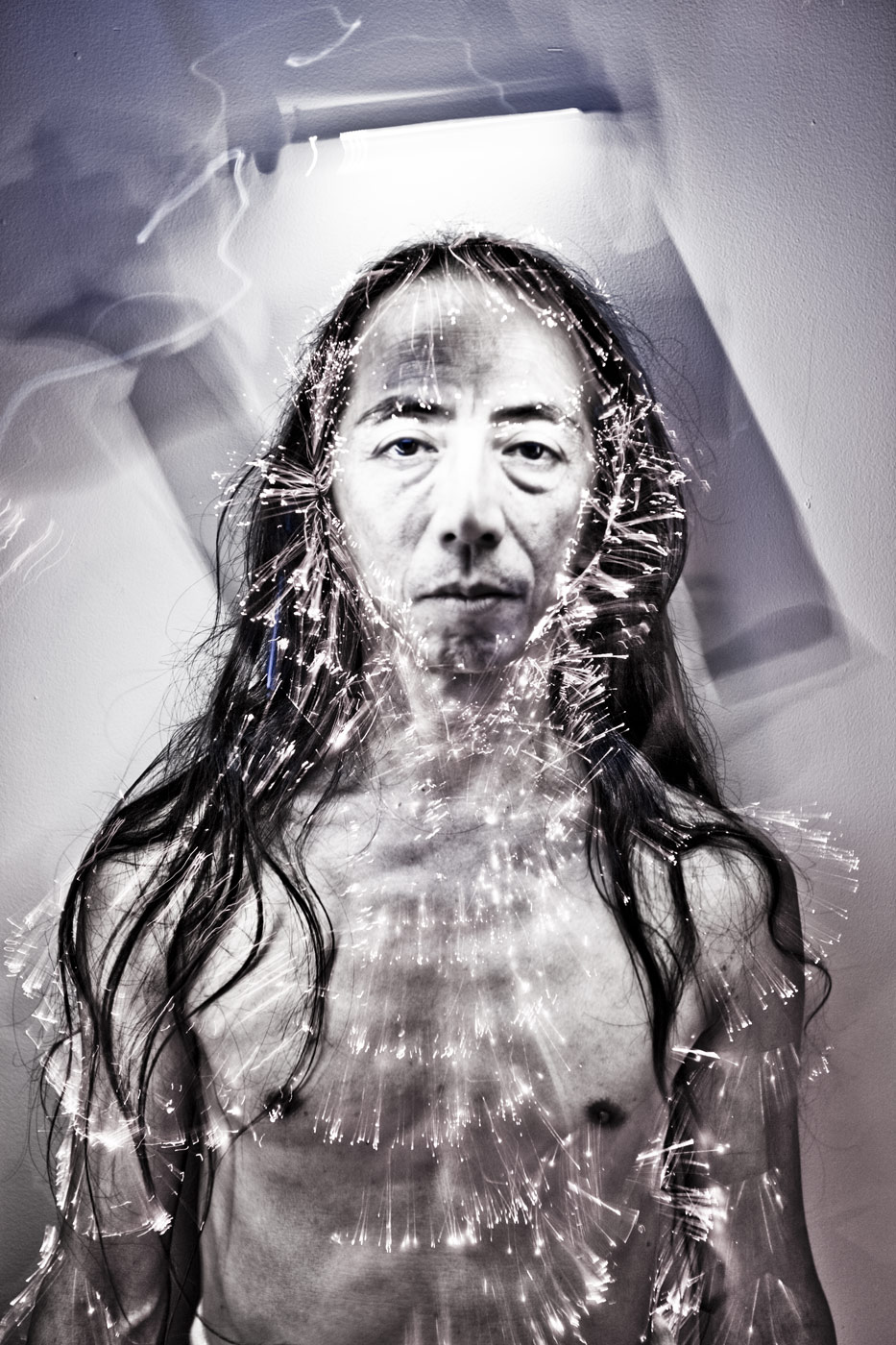 Butoh master Atsushi Takenouchi