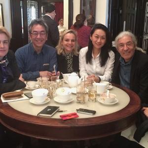 Lunch with Algerian writer, Boualem Sansal (in English)