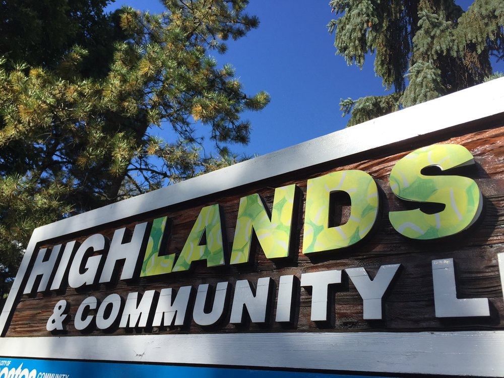 highLANDS, 2016. a update on the Highlands Comminuty League Sign