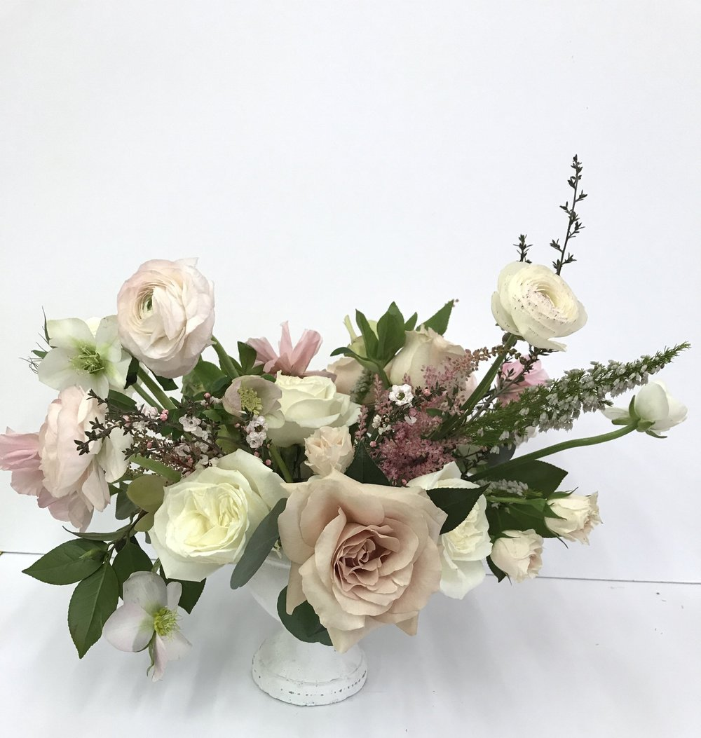 - Make your Valentine swoon this year with gorgeous flowers from Urban Petals! We are offering one beautiful, curated arrangement in three sizes:Luxe: $125Lush: $65Petite: $30Pre-Orders are closed. Please call (864) 569-6112 to check current availability.After February 9, all orders will be available on a first-come basis for pick-up only at our Studio. Delivery is available with Pre-orders Only for $15 in Greenville County. While we realize these options may not be the norm, we're a small business and want to provide the highest quality possible to each of our customers.*Please note: Arrangements are