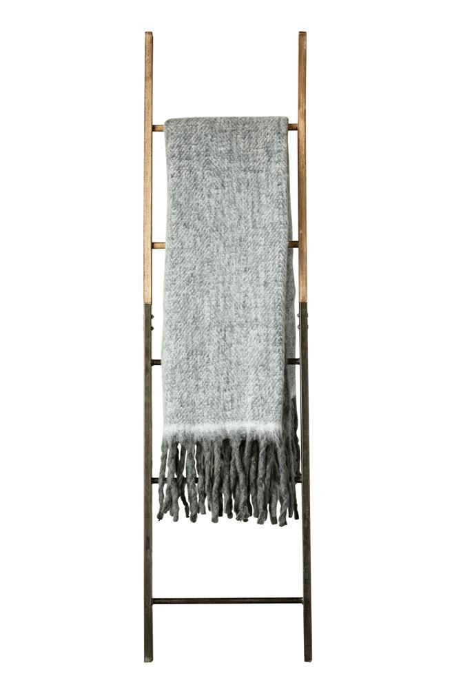 60%22L x 50%22W Mohair & Acrylic Throw, Grey.jpg