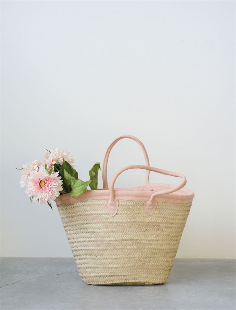 moroccan bag with pink leather handles.jpg