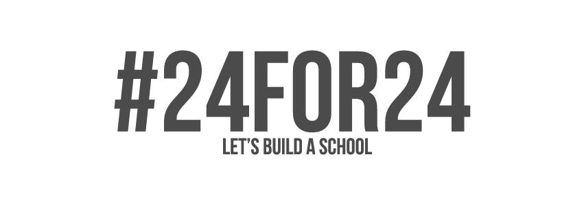 I structured my digital and email campaigns around the #24for24, the idea being that everyone gives $24. It seemed clever at the time :)