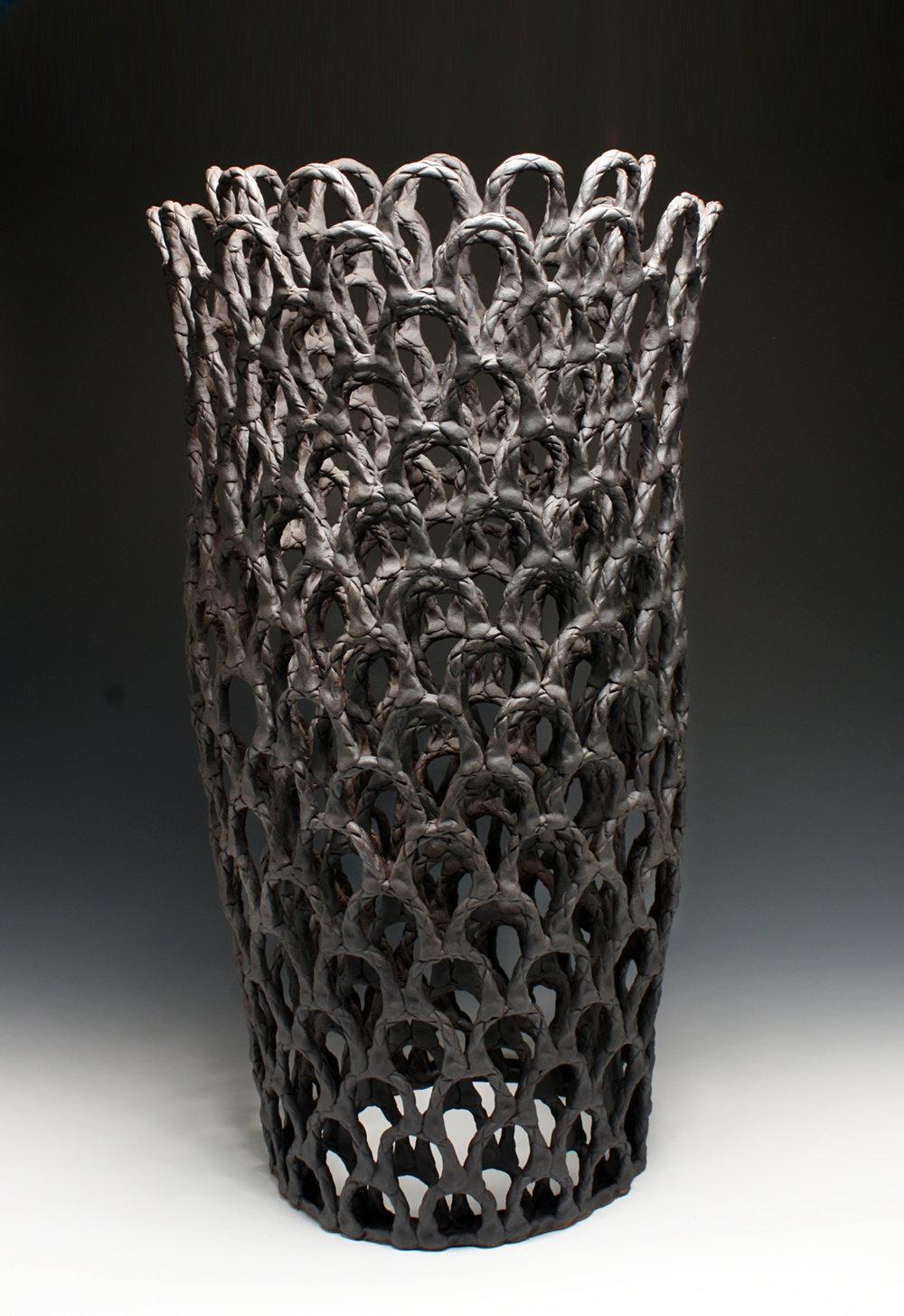 Tall Vessel Form, 106h x 43w x 43d cm