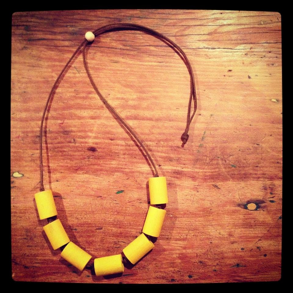 Maette - Wood Necklace