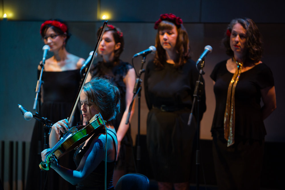 Gig: Sophie Koh Album with Ladychoir Photo Credit :: Ben Loveridge