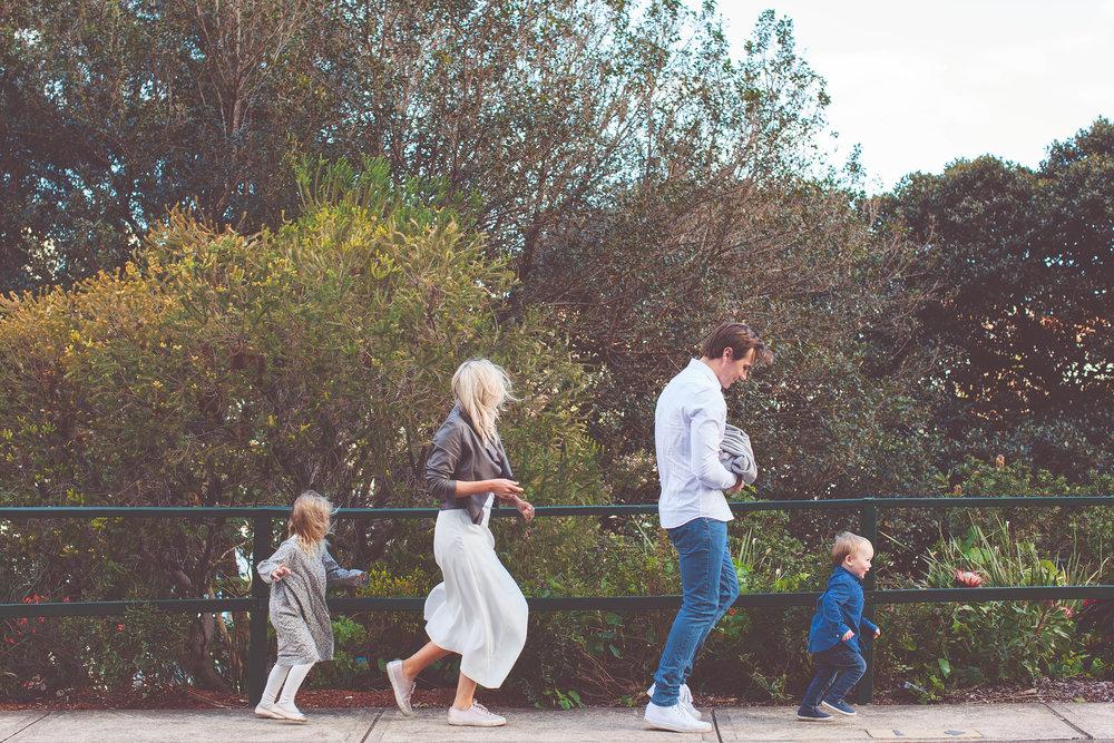 Wagschall Family    Family Photography Kirribilli, Sydney