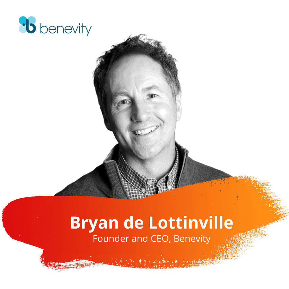 "Session: A Big Benevity Welcome   Wednesday, Feb. 27 | 9:00 - 9:45am   Bryan is a self-described ""recovering lawyer"" who is constantly dreaming of novel ways to help global enterprises reinvent corporate giving programs to provide better social and business returns, and simultaneously tackle the biggest struggles on the charitable landscape.  Bryan is a frequent speaker and  blogger  on topics relating to social-good programs and a recognized thought leader in the space. He believes that, with the help of our clients, we'll shape the story anew and build on our aspirations to create innovative and scalable Goodness Programs that strengthen the social fabric of our communities. His strategic vision and leadership is perfectly paired with the right mix of passion and industry expertise to keep the company, our software and our client service top-notch."