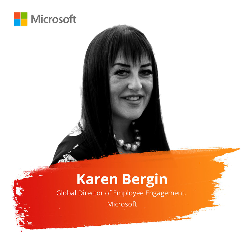 Client Panel: Game Changing Brands   Wednesday Feb. 27 |11:00am – 11:45am   Karen helps thousands of employees give away millions of dollars to causes they and Microsoft care about. Microsoft employees raised $163 million through US Employee Giving in 2018, inclusive of company match.  Starting in 1998 as the sole inhouse UK PR person, Karen rapidly built a large Corporate Affairs team which won national and international awards including 'Best UK Technology PR' for 4 years in a row. In 2005 she set up her own business in corporate reputation management where she coached senior executives at BT, Dell, HSBC, Microsoft and the Serious Organized Crime Agency to name just some. She led PR for Microsoft Australia before relocating to Redmond HQ in 2008.  Her favorite accolade will probably always be a UK award for 'Breath of Fresh Air'.