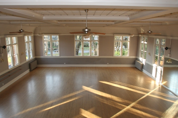 Ballroom looking West