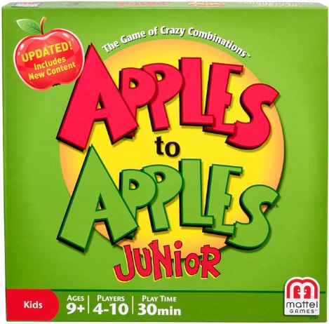 For students under 12 try Apples to Apples Jr.