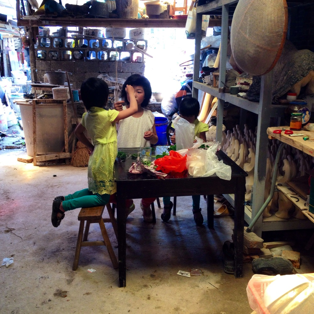 We were able to visit plenty of Artisan studios and see the craftsmen at work.