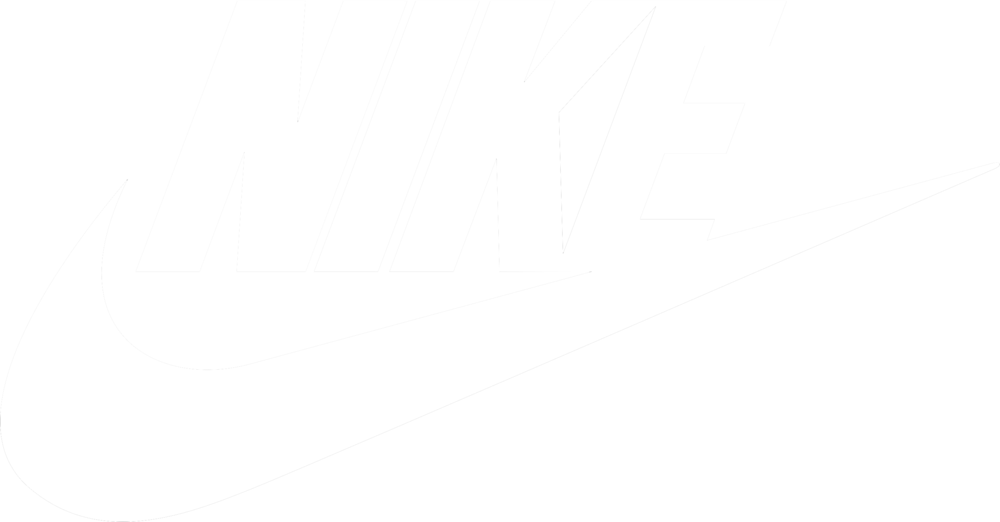 the gallery for gt white nike logo png