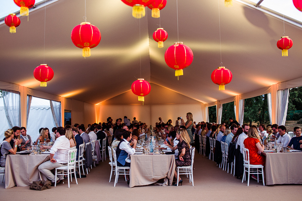 st tropez wedding photographer marquee red lanterns