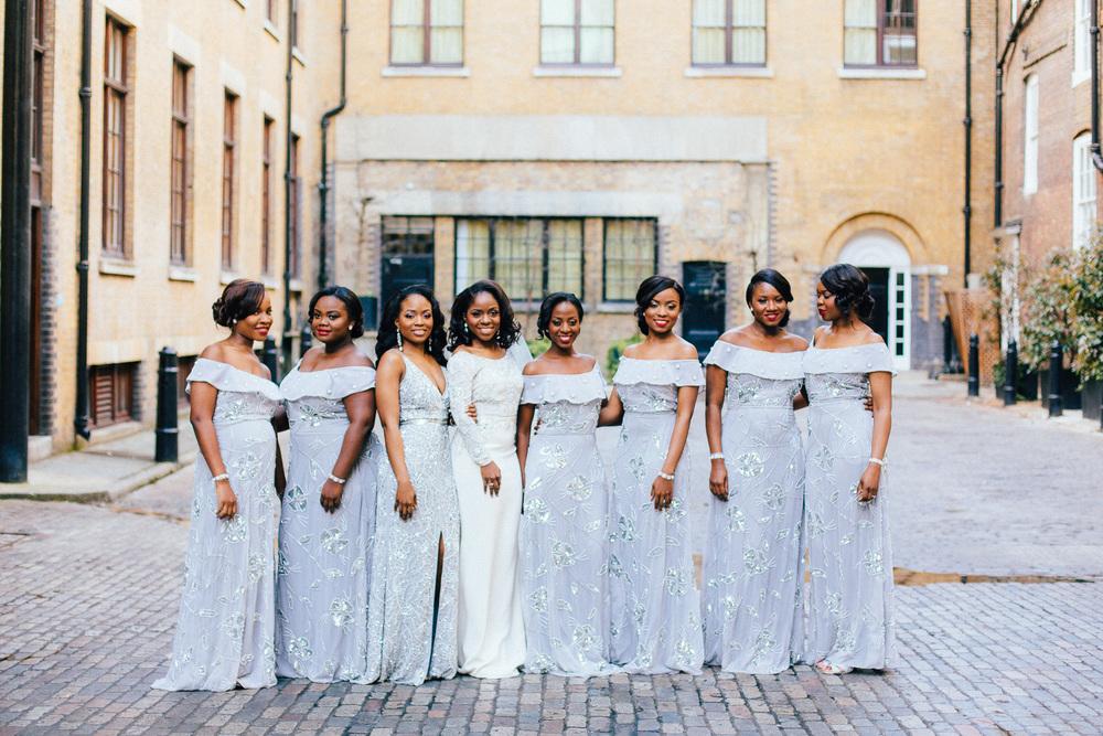 london bridesmaids