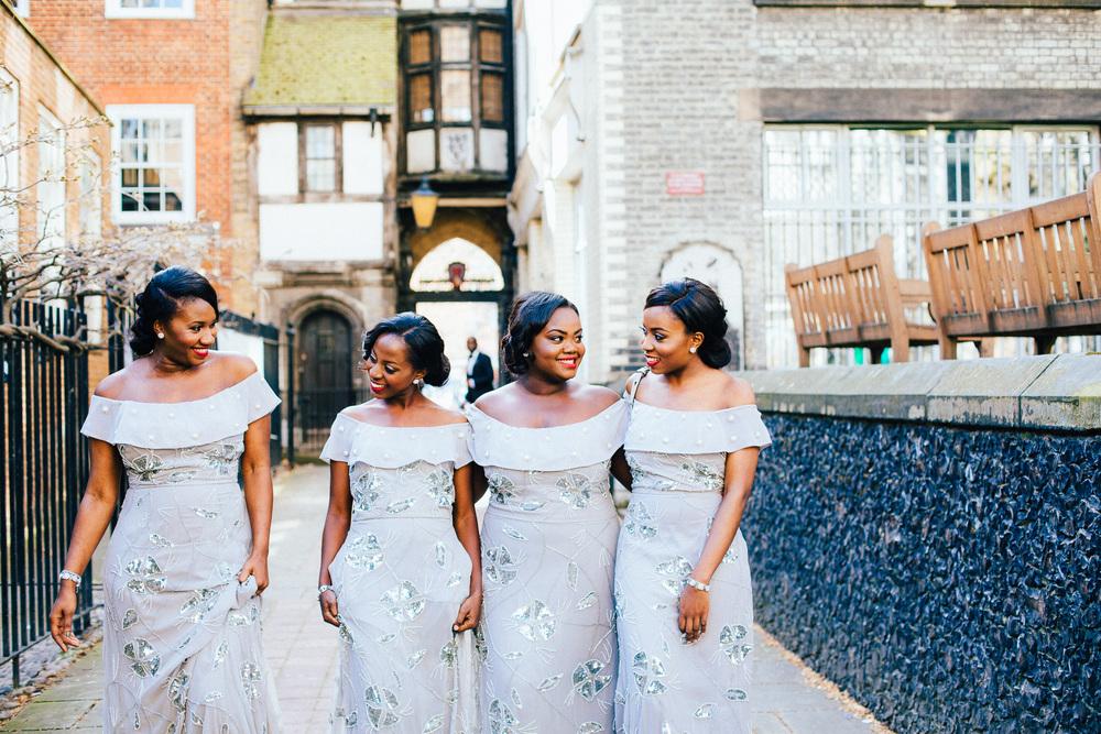 london bridesmaids pastel blue dresses nigerian virgos lounge