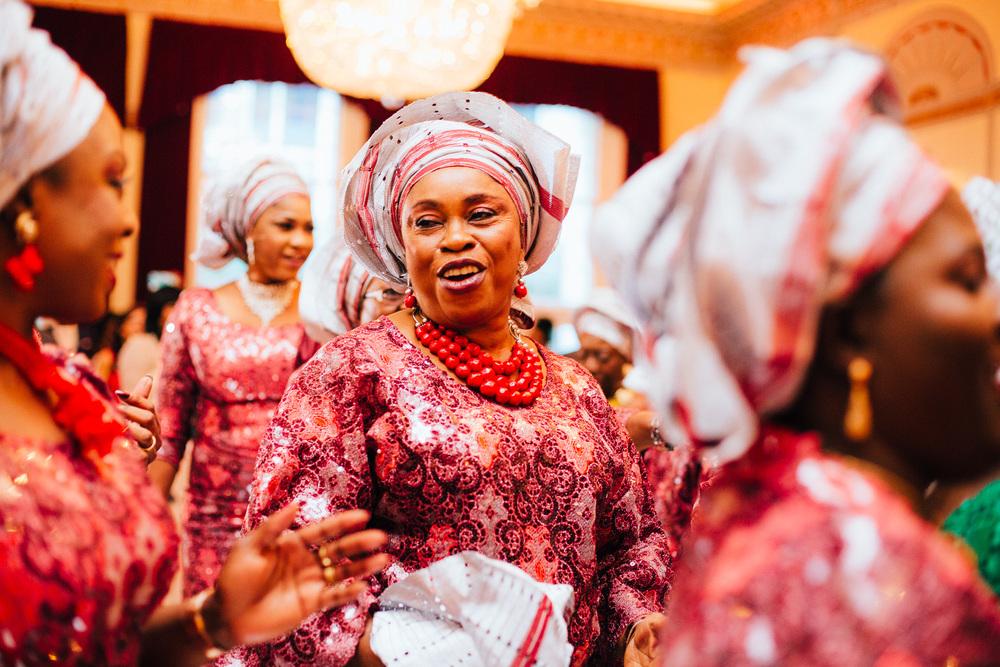colourful nigerian wedding london photography