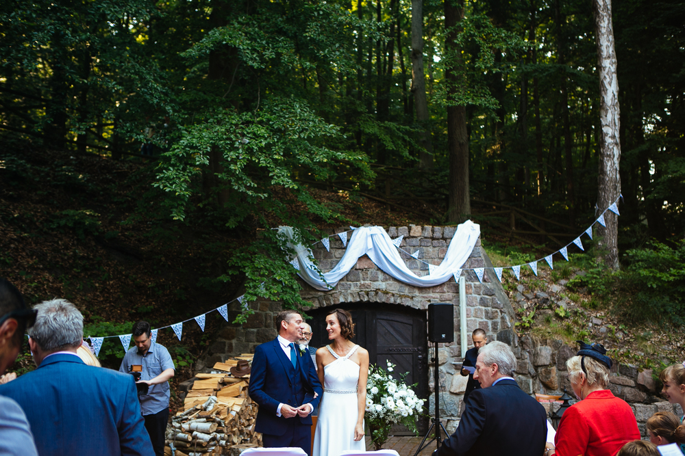 forest wedding poland sopot destination photography