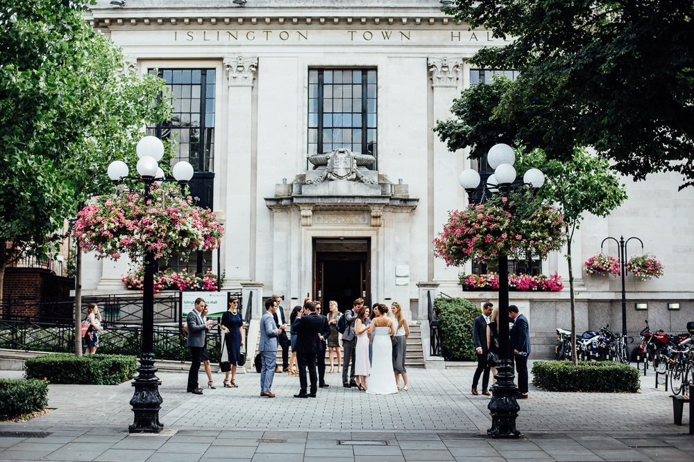 alternative london wedding