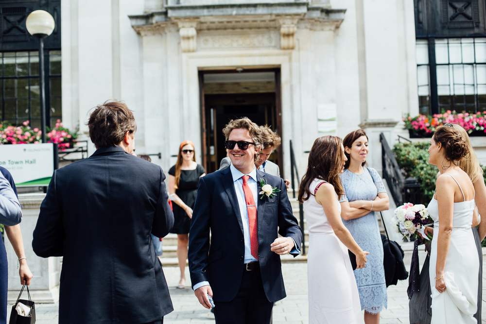 intimate london wedding photography
