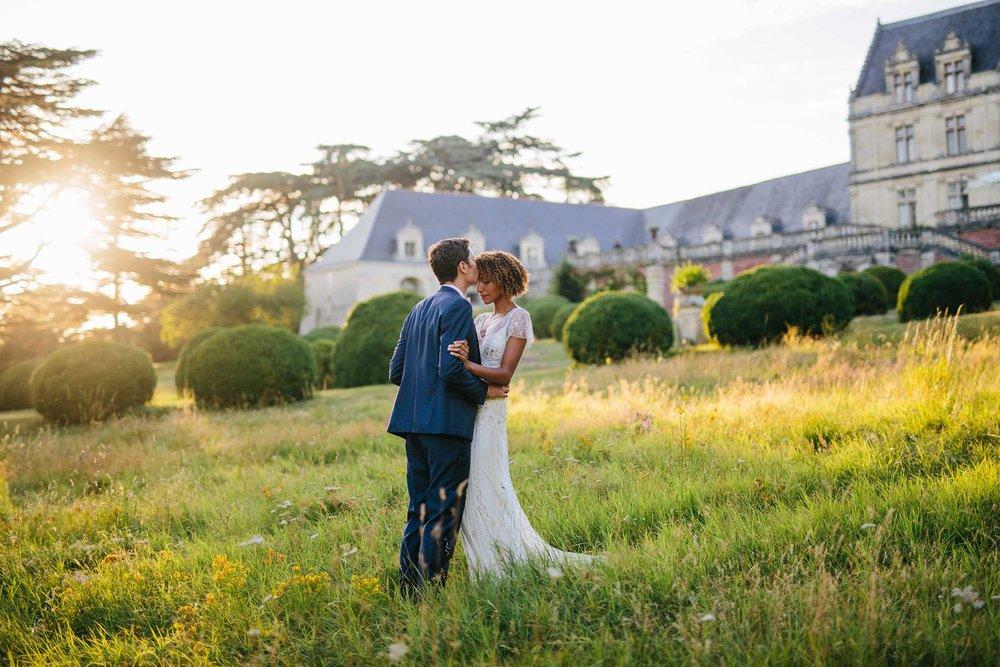 MARLIE & KEVIN // FRENCH CHATEAU WEDDING -