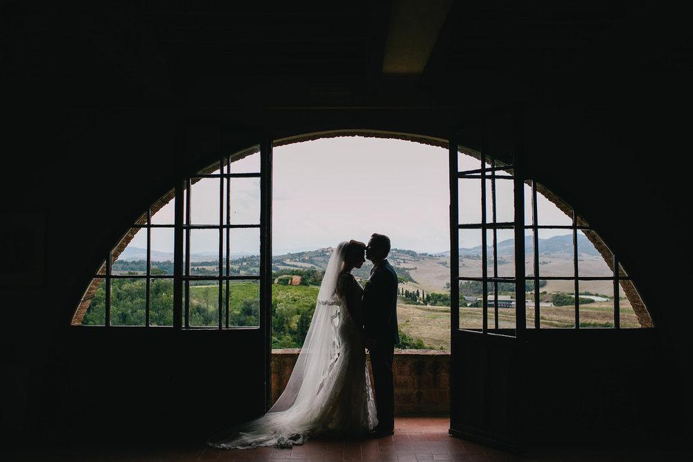 MATT & KERI // TUSCANY VINEYARD WEDDING -