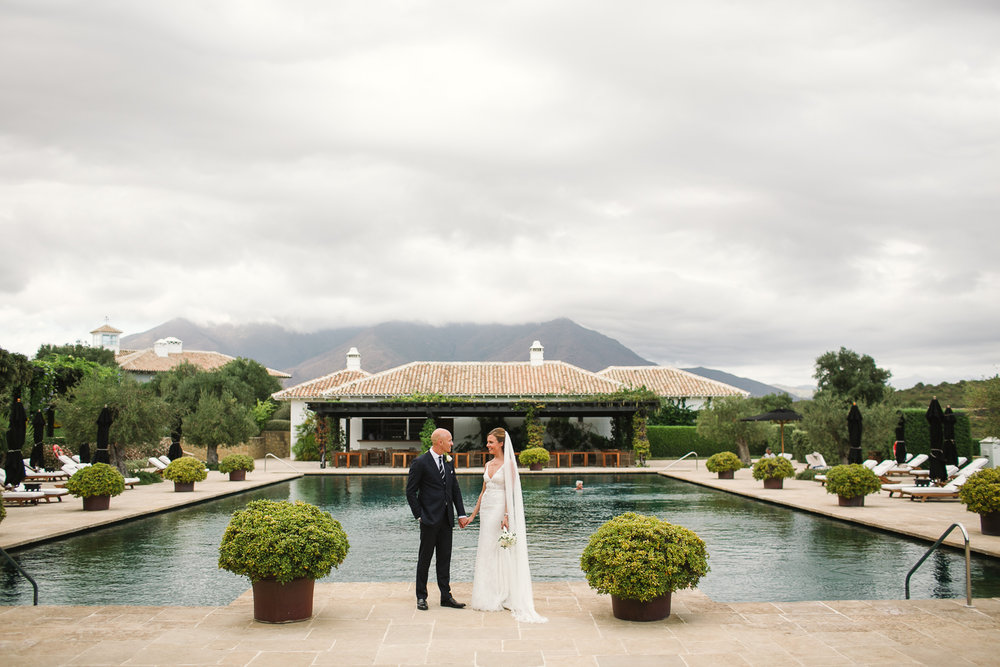 CAROLINE & RUSSELL // SPANISH BEACH WEDDING -