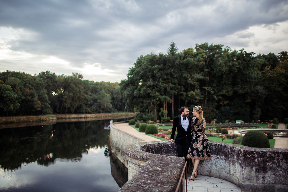 MARIE ISABEL & NICOLAS //  FRENCH CHATEAU PARTY -