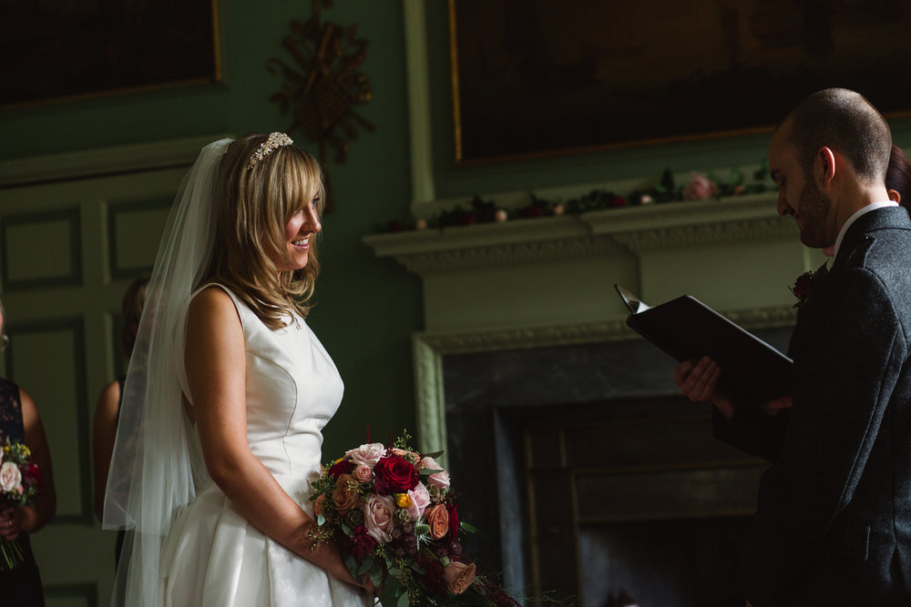 NICOLA & MICHAEL // EDINBURGH CASTLE WEDDING -