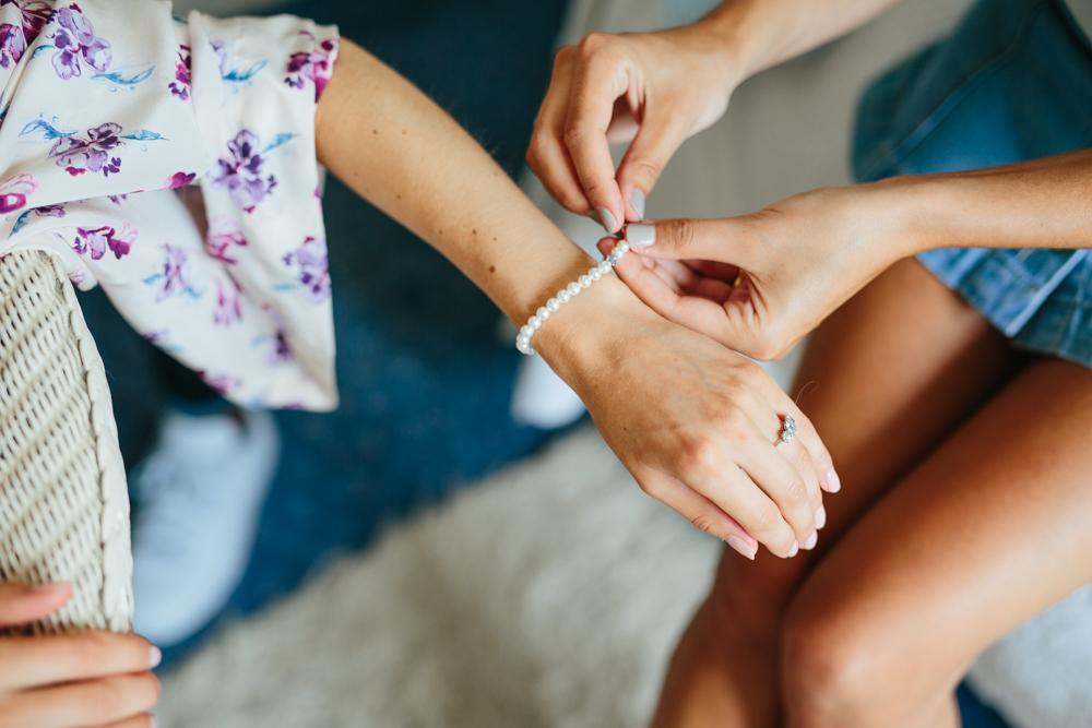 bridesmaid jewellery gift