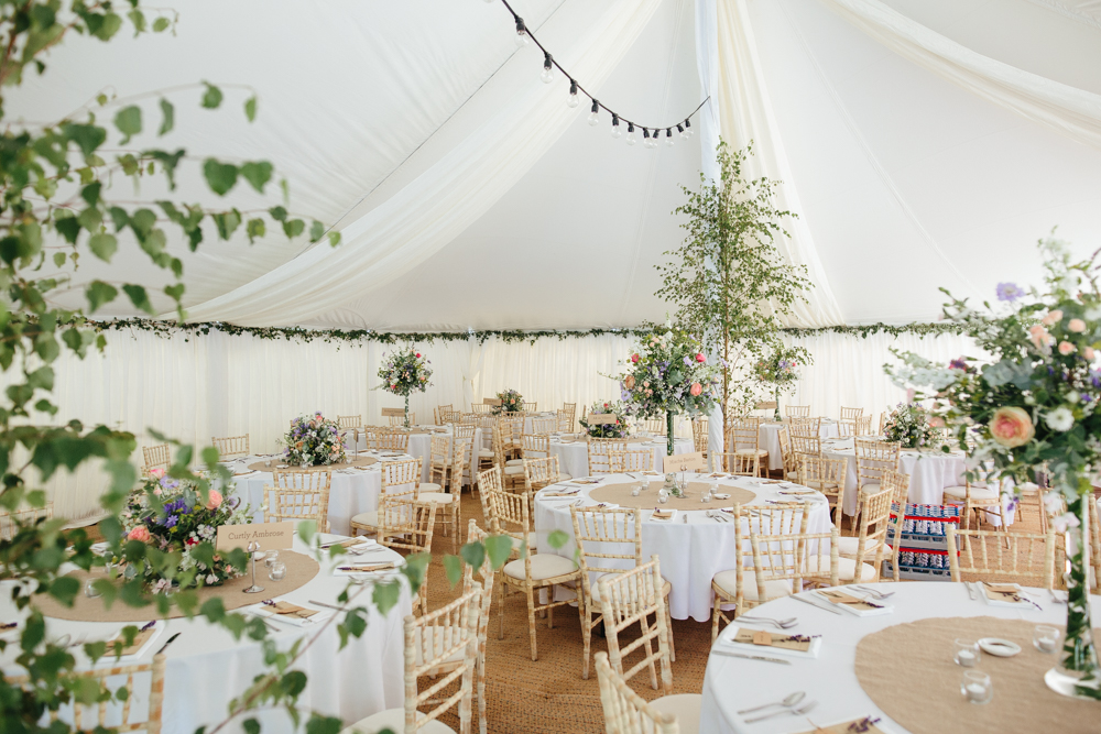english country garden wedding decoration