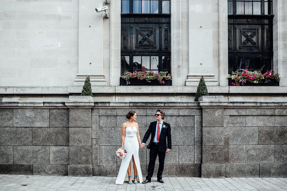 GREG & NICOLE // ISLINGTON TOWN HALL WEDDING -