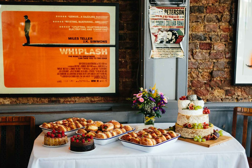 wedding doughnuts london
