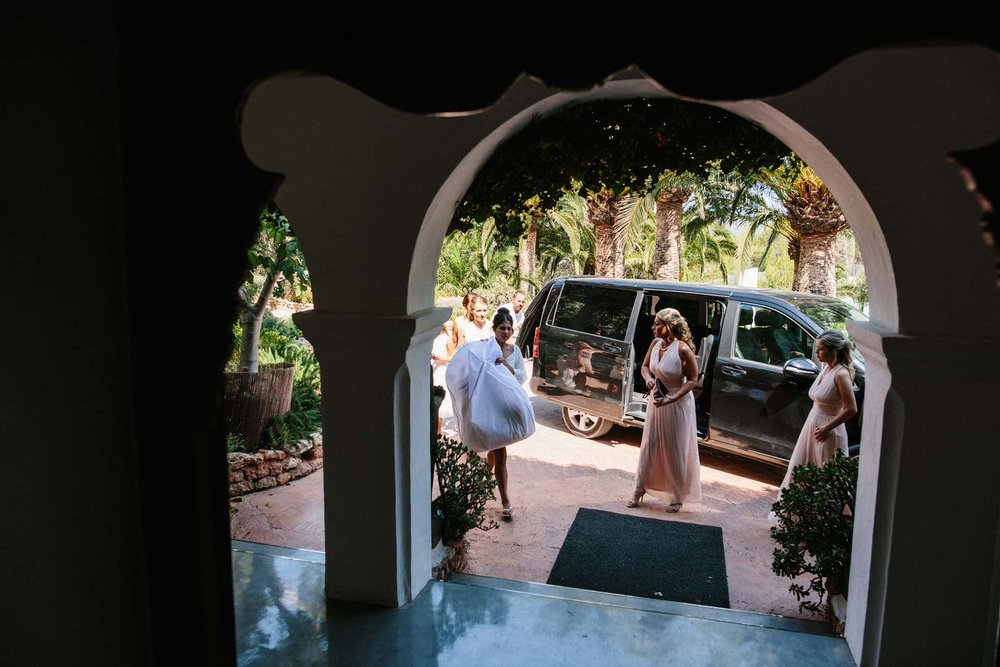 hacienda na xamena wedding