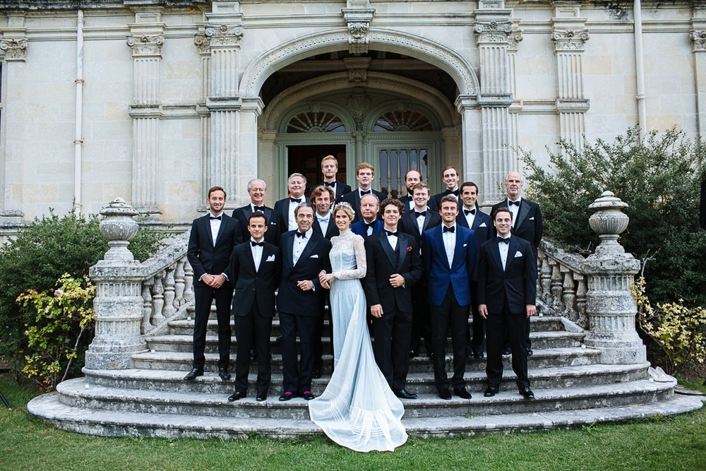 France chateau wedding photography