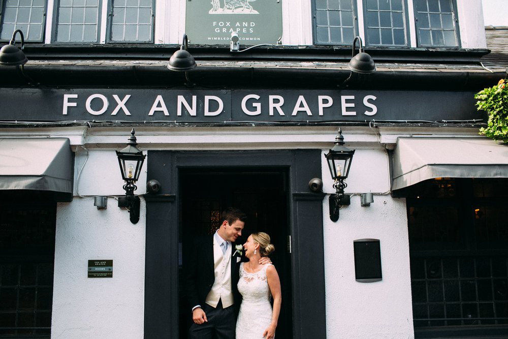 london pub wedding
