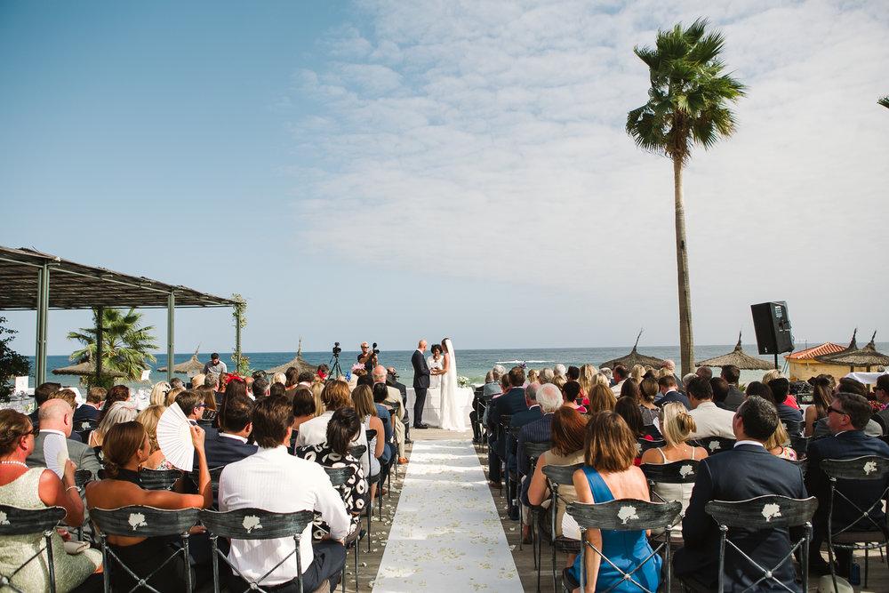 WEDDING PHOTOGRAPHER SPAIN SPANISH BEACH