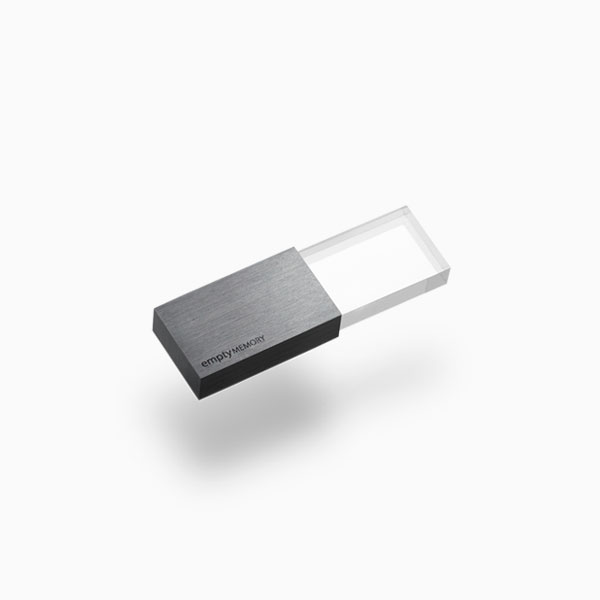 <a href=/emptymemory-transparency-gunmetal>USB flash drive →</a><strong>£65</strong>