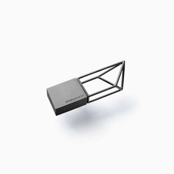 <a href=/emptymemory-structure-gunmetal>USB flash drive →</a><strong>£65</strong>