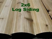 2x6 Log Cabin Siding