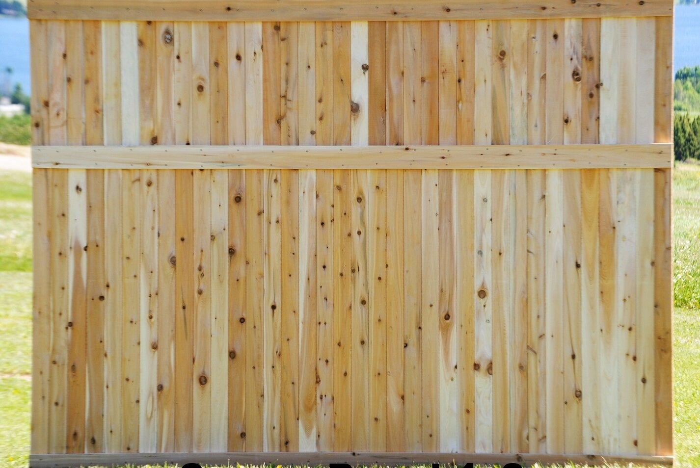Cedar fence panels and post maine cedar store 42 fence panelg baanklon Gallery