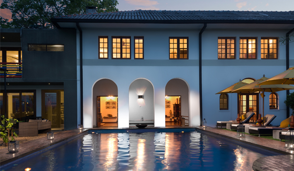 invite-to-paradise-sri-lanka-specialists-holiday-honeymoon-weddings-travel-agent-tour-operator-kandy-luxury-colonial-boutique-09-Swimming-Pool-At-Night.jpg