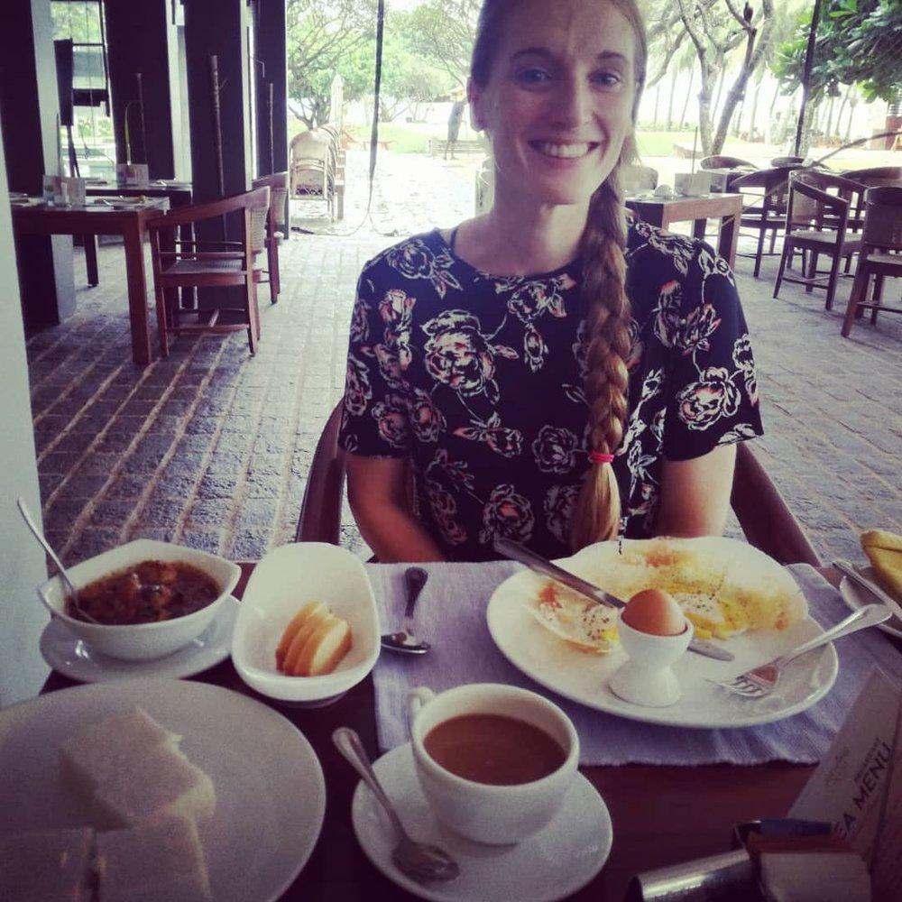 invite-to-paradise-sri-lanka-honeymoon-specialists-customer-guest-feedback-Paul-Traies-Chloe-Rowley-beach-food-coeliac-gluten-free-breakfast.jpg