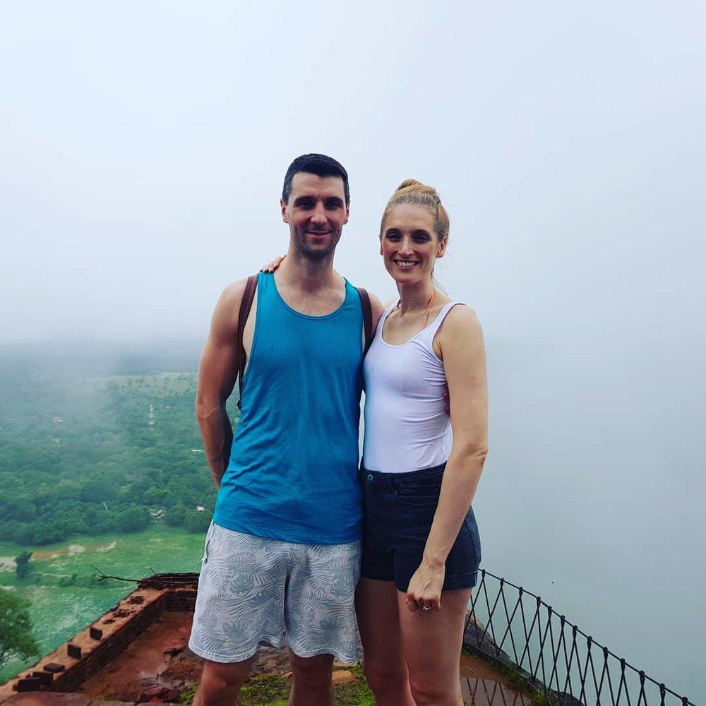 invite-to-paradise-sri-lanka-honeymoon-specialists-customer-guest-feedback-Paul-Traies-Chloe-Rowley-sigiriya-rock-fortress.jpg