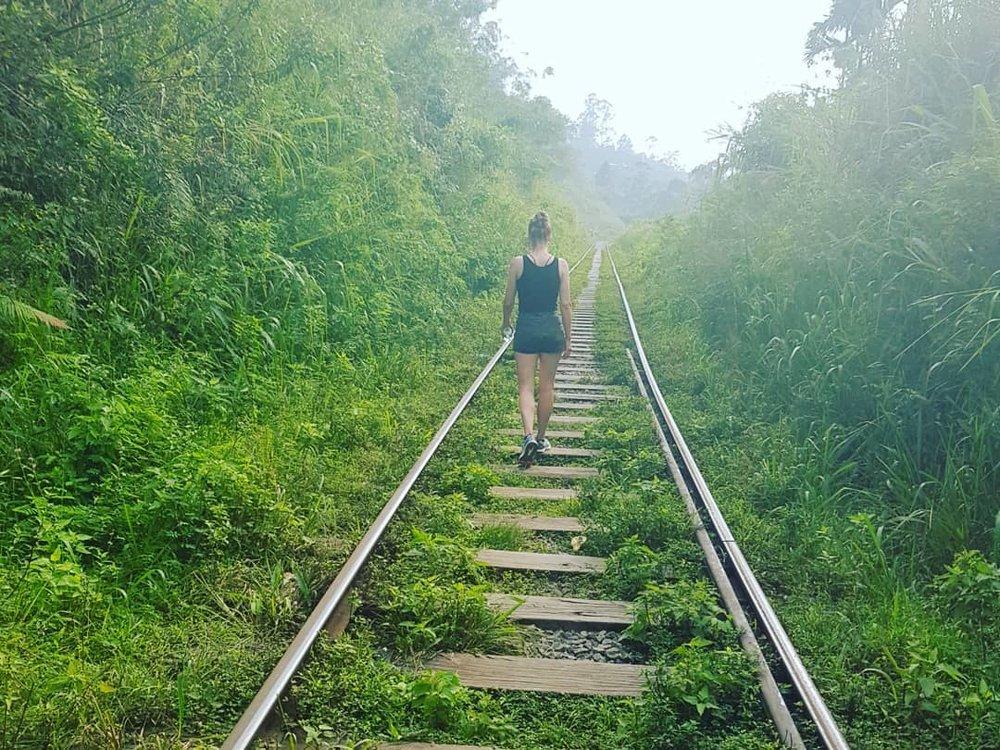 invite-to-paradise-sri-lanka-honeymoon-specialists-customer-guest-feedback-Paul-Traies-Chloe-Rowley-ella-tea-plantations-railway-tracks.jpg