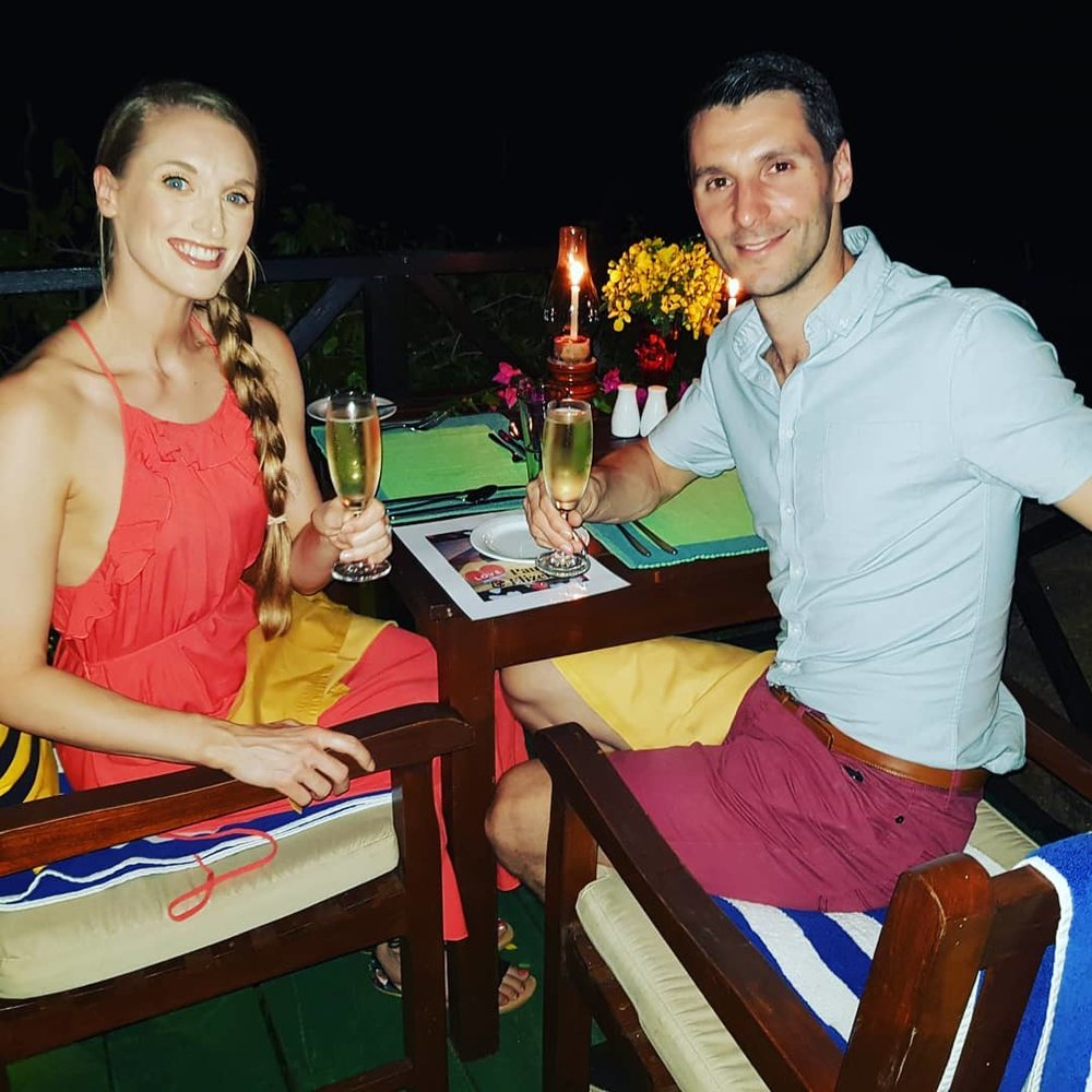 invite-to-paradise-sri-lanka-honeymoon-specialists-customer-guest-feedback-Paul-Traies-Chloe-Rowley-yala-cinnamon-private-dinner.jpg