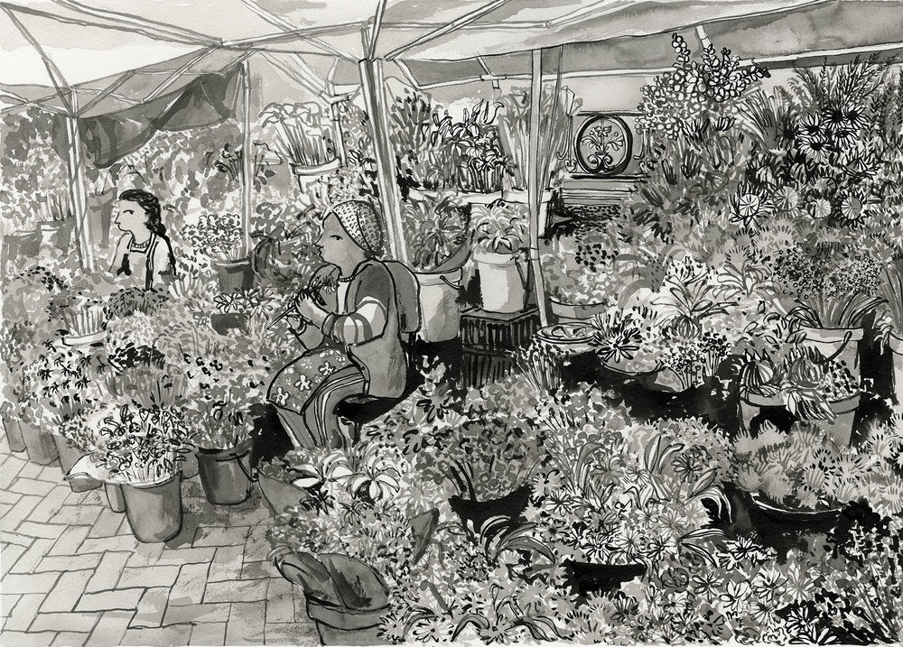 # 007 Adderly St Flower sellers